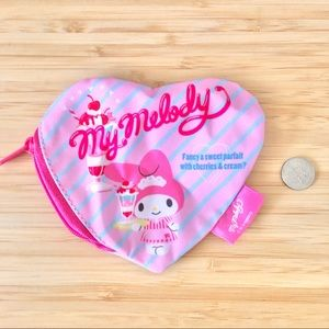 Rare my melody MINI make up pouch